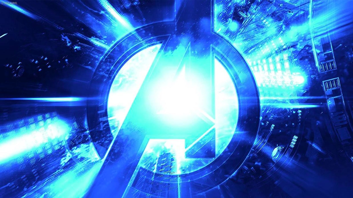 12 Marvel backgrounds for Zoom include some of the epic logos.