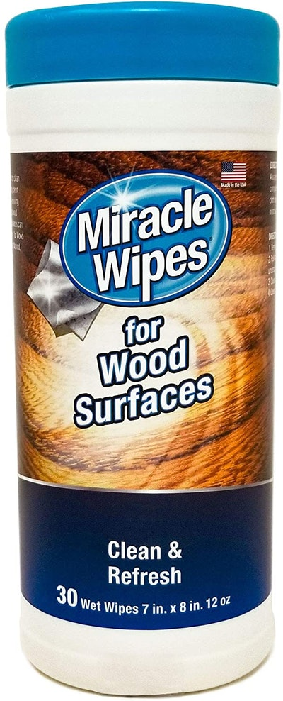 MiracleWipes for Wood Surfaces