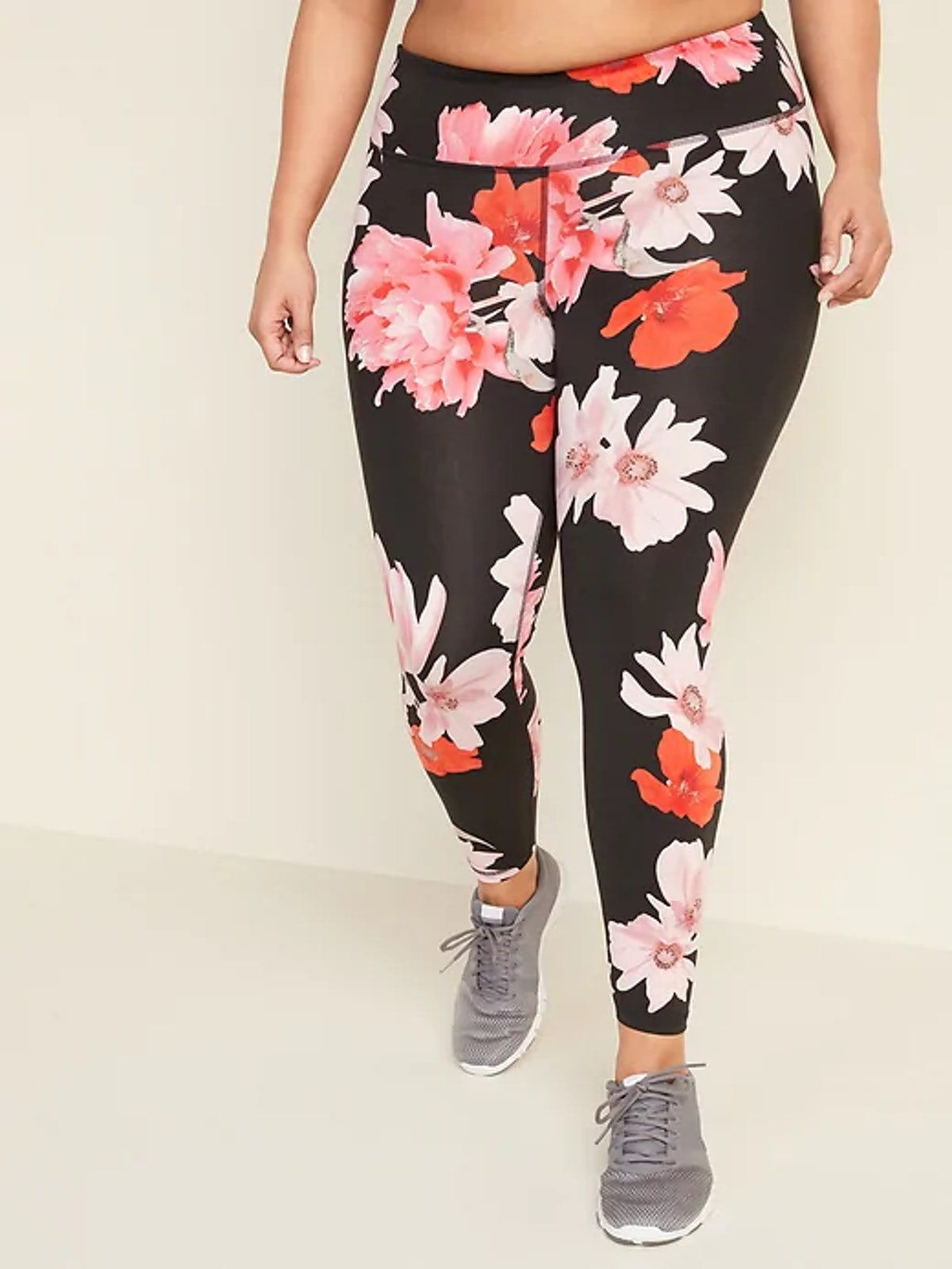 Old Navy High-Waisted Elevate 7/8-Length Plus-Size Leggings