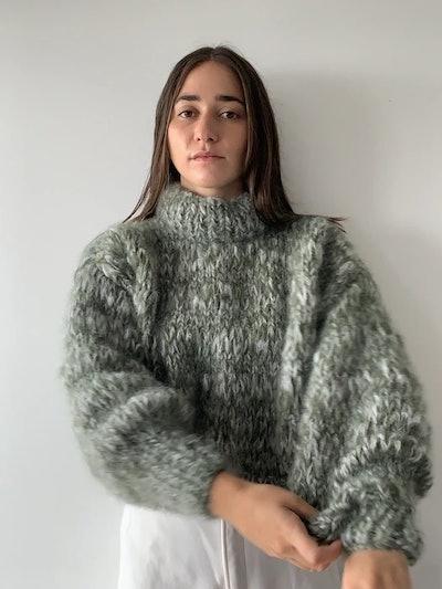 Isabella Sweater in Fern