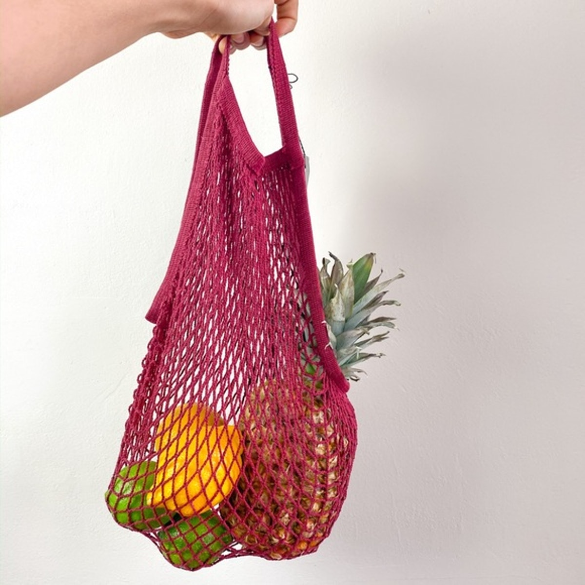 Eco Reusable String Tote Woven Net Bag