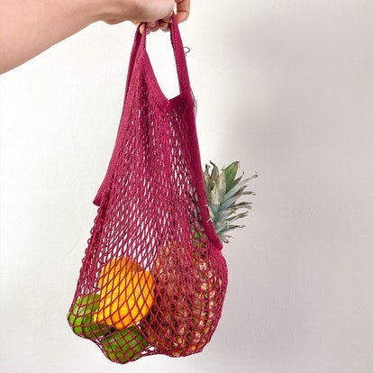 Eco Reusable String Tote Woven Net Bag