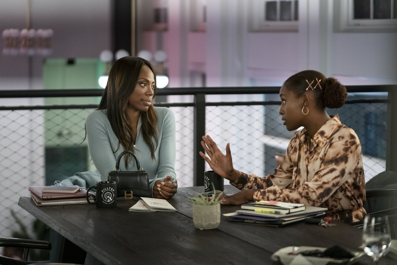 Yvonne Orji & Issa Rae as Molly & Issa on 'Insecure'