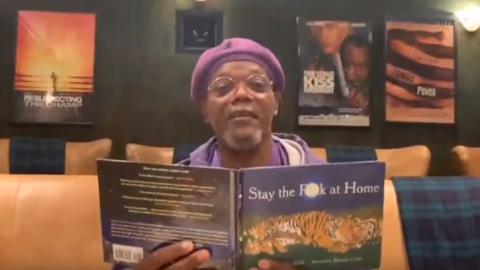 """Samuel L. Jackson reads an updated version of """"Go The F*ck To Sleep"""""""