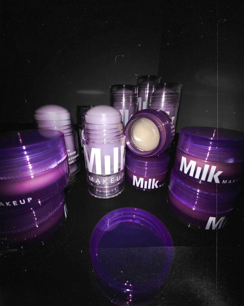 Melatonin is the featured ingredient in Milk Makeup's new lip mask and serum