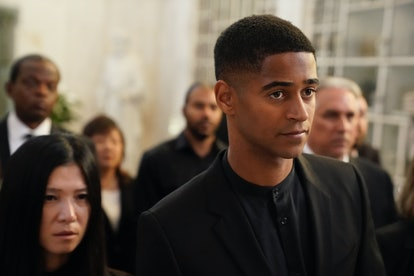 Alfred Enoch as Wes in How To Get Away With Murder