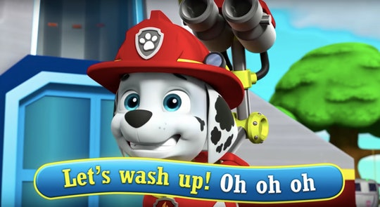 'PAW Patrol' has a new hand-washing song that's sure to get your kids excited about staying clean.