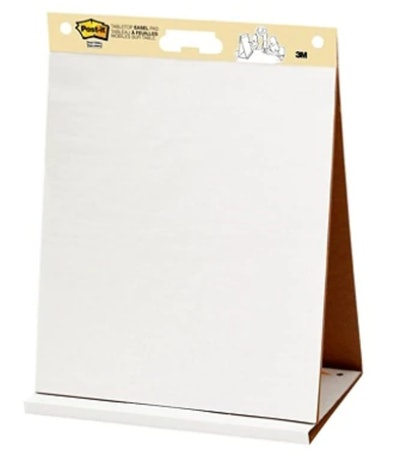 Post-it SelfStick Tabletop Easel Pad