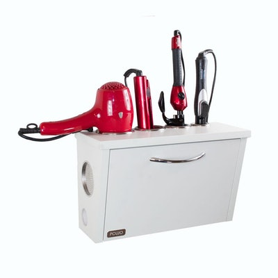 Wall Mount Hair Appliance Storage System