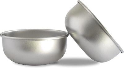 Basis Pet Stainless Steel Dog Bowl