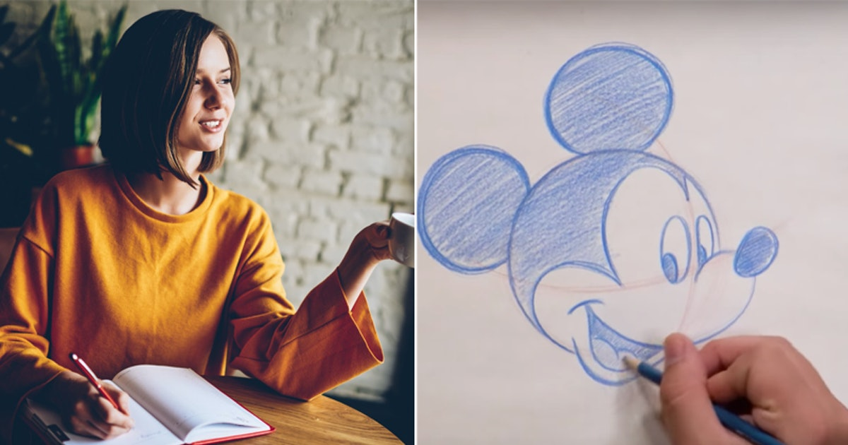 Learn How To Draw Disney Characters With These 13 Magical Tutorials