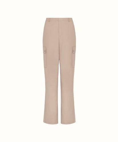 Faux Leather Baggy Pants