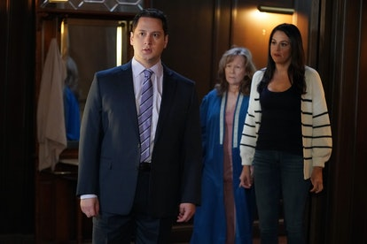 Matt McGorry as Asher, Jennifer Parsons as Lydia, and and Kelen Coleman as Chloe in How To Get Away With Murder