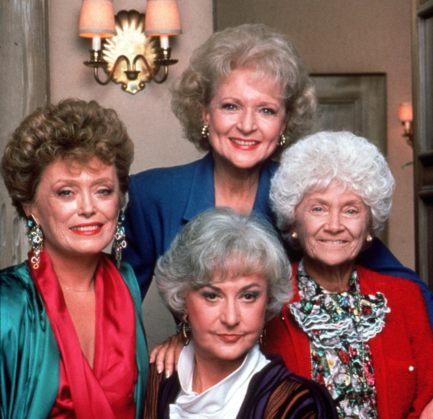 The cast of the Golden Girls