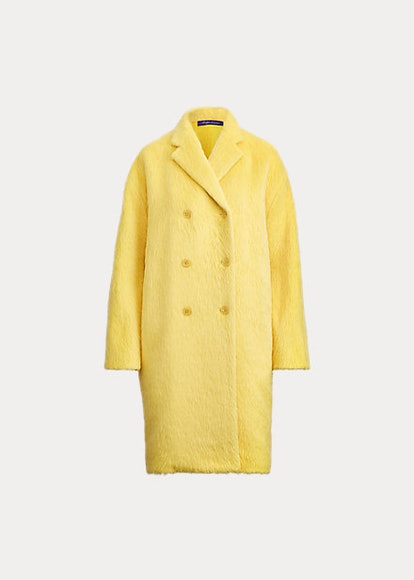 Thomasina Alpaca-Wool Coat