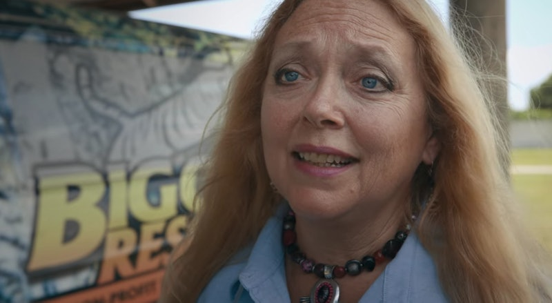 Carole Baskin in 'Tiger King'