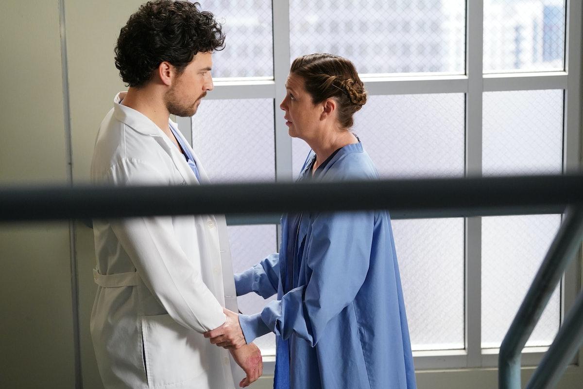 Grey's Anatomy Deluca & Meredith