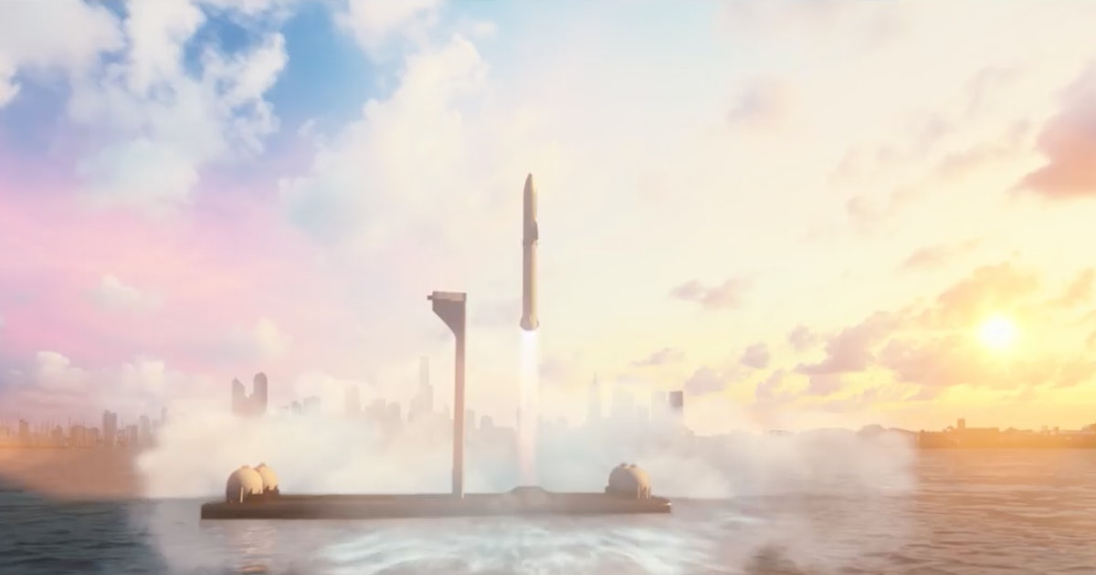 SpaceX Starship could offer Earth-wide package deliveries in under an hour
