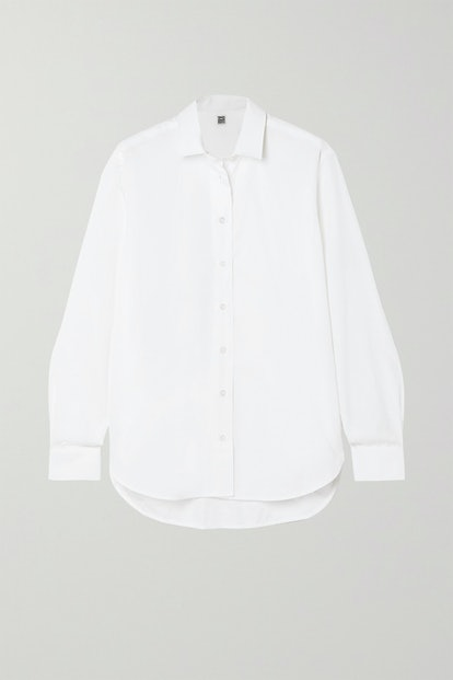 Capri Cotton-Poplin Shirt