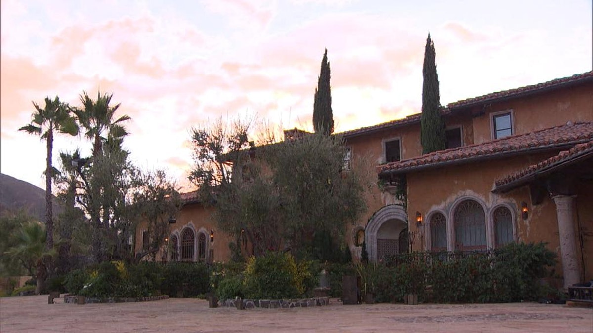 Another one of the top Zoom backgrounds for first dates is the Bachelor mansion.