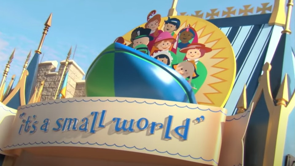 "You can now virtually ride ""It's a Small World"" from the comfort of your home."