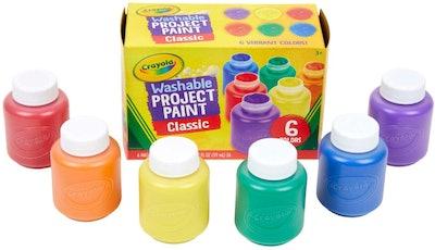 Crayola Washable Kids Paint (6-Pack)