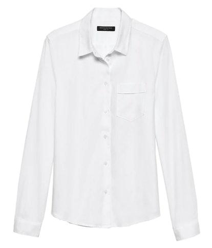 Banana Republic Quinn Straight-Fit Oxford Shirt