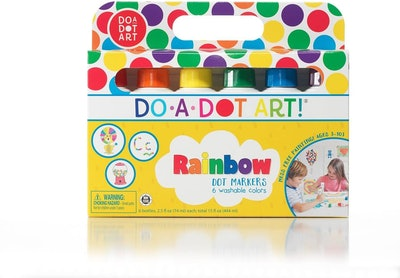 Do A Dot Art! Rainbow Washable Paint Markers (6-Pack)