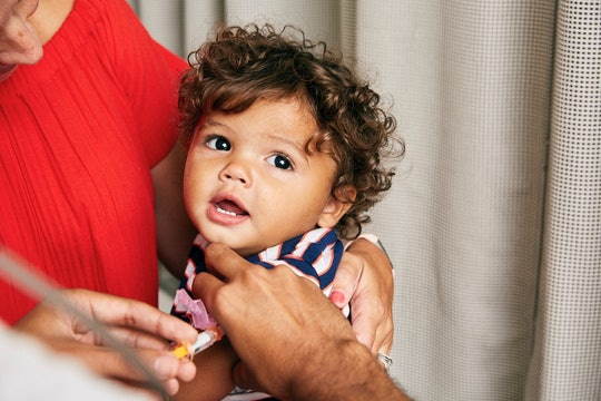 Experts say you should keep your baby's routine vaccinations even during the coronavirus pandemic.
