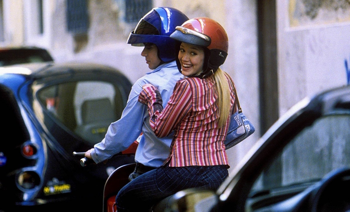 lizzie McGuire struck up a romance with Paolo in 'The Lizzie McGuire Movie.'