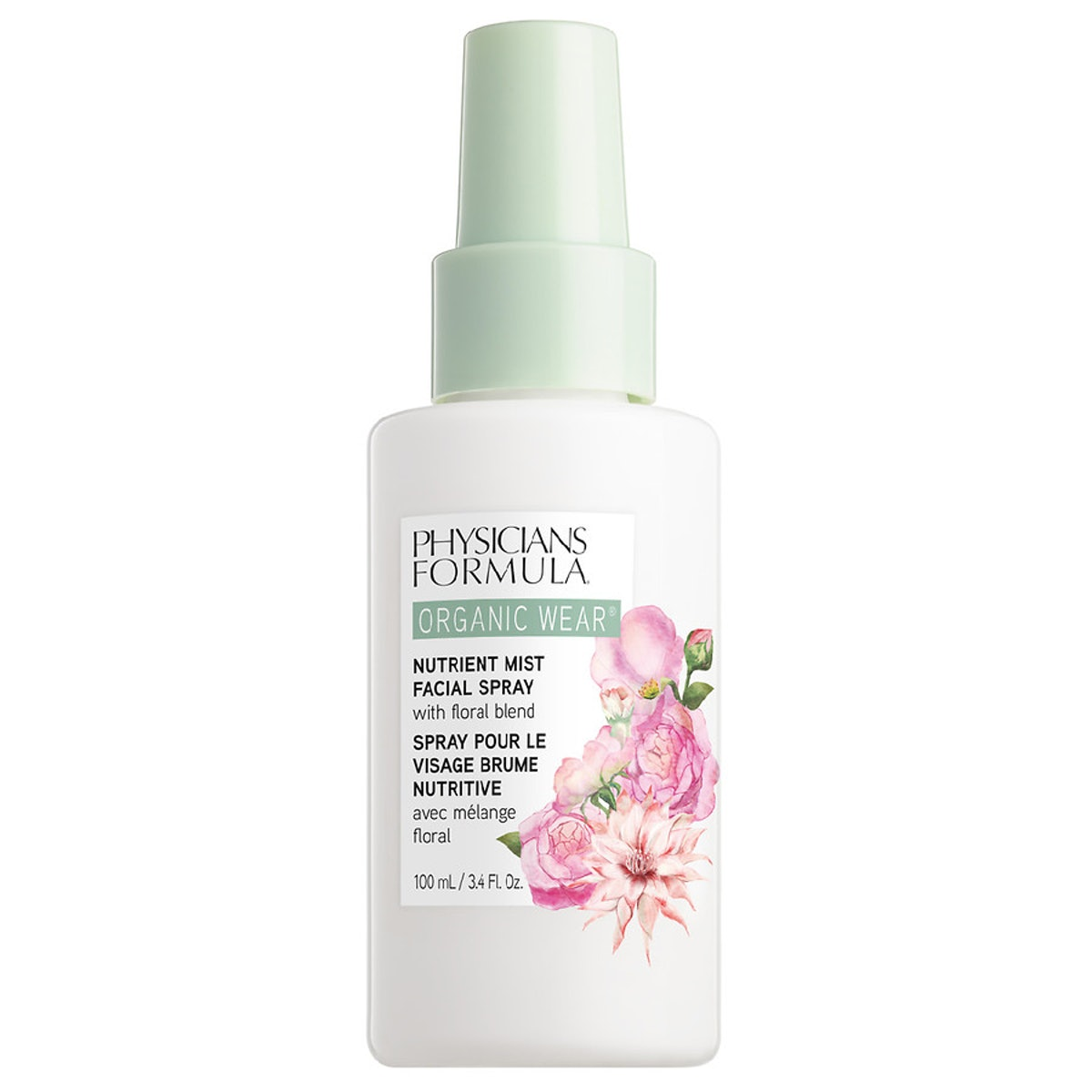Organic Wear Nutrient Mist Facial Spray