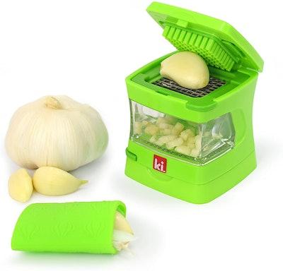 Garlic-A-Peel Garlic Press