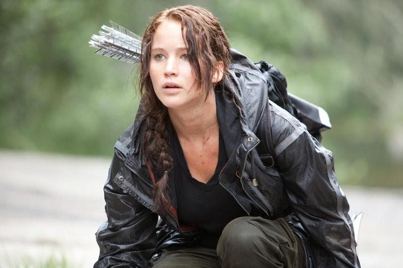 Jennifer Lawrence in 'Hunger Games'