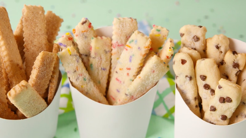 Disney's Plant-Based Cookie Fries Recipe Is Super Easy To Make At Home