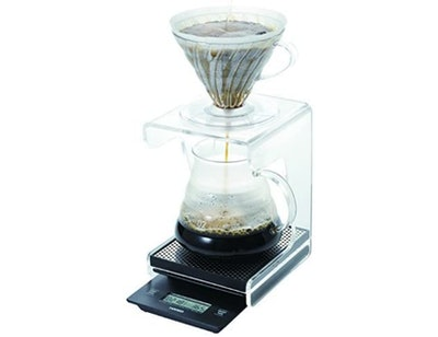 Hario V60 Drip Coffee Scale and Timer (Black)