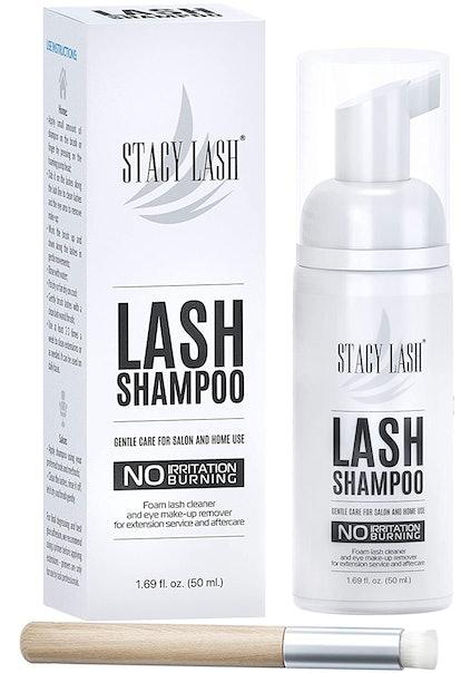 Stacy Lash Eyelash Extension Shampoo and Applicator
