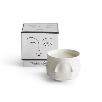 Muse Blanc Ceramic Candle