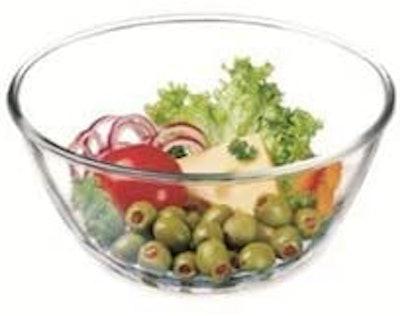 Simax Glassware 2.6 Quart Glass Mixing Bowl