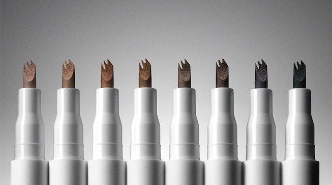 Milk Makeup Kush Triple Brow Pens in all shade ranges.