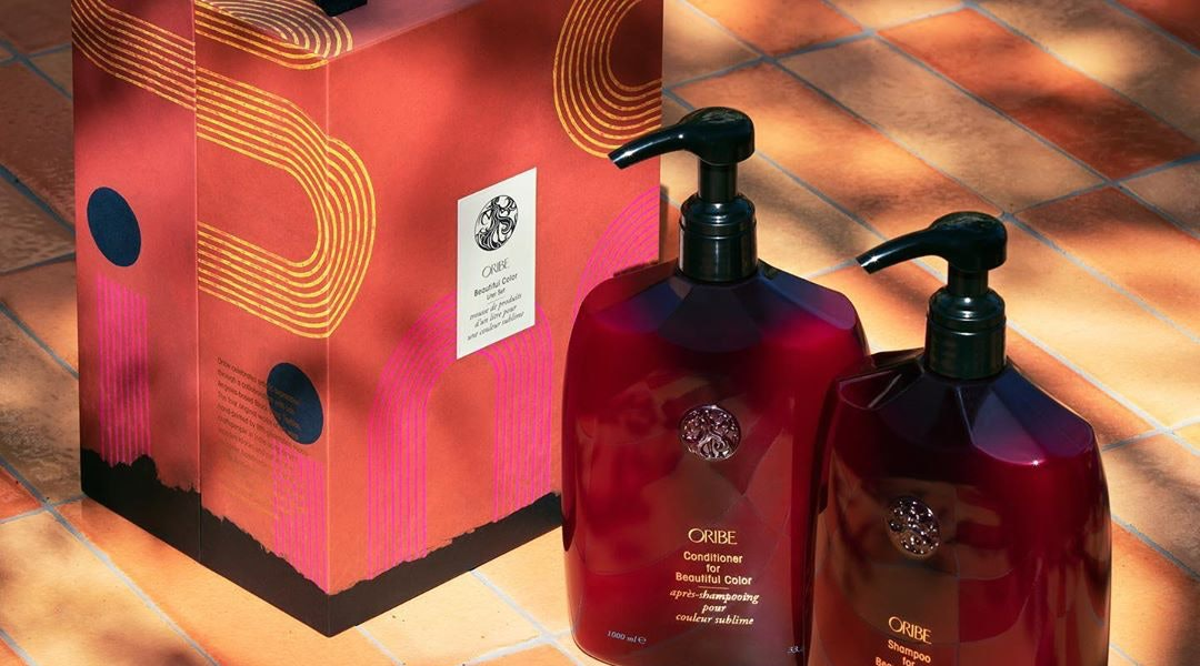 Oribe is one brand with jumbo size shampoos and conditioners.