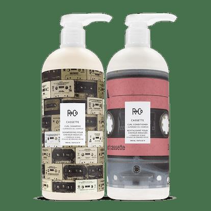 CASSETTE Curl Shampoo + Conditioner + Superseed Oil Complex Retail Liter Set