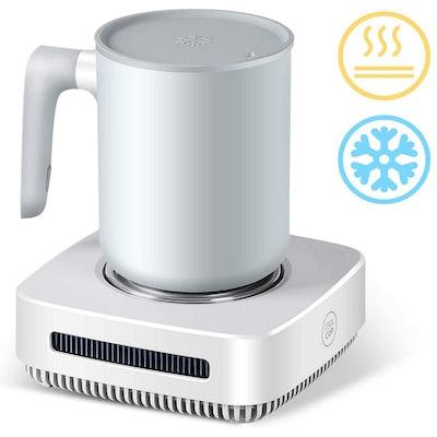 Nicelucky 2-in-1 Mug Warmer And Cooler