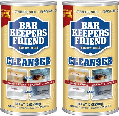 Bar Keepers Friend Powdered Cleanser (2-Pack)