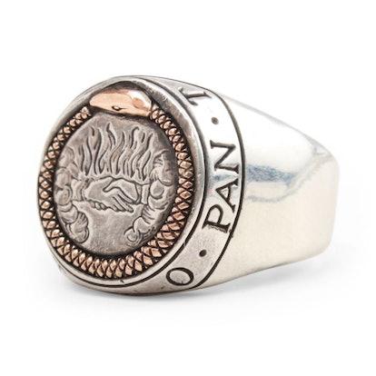 Ourobors Signet Ring