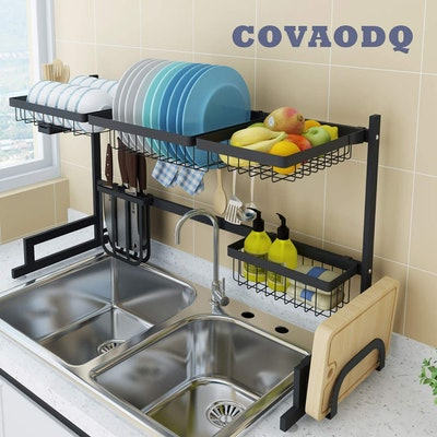 COVAODQ Over-Sink Dish Drying Rack