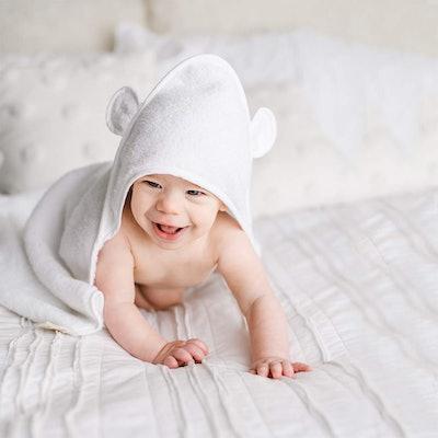 Natemia Organic Hooded Baby Towel