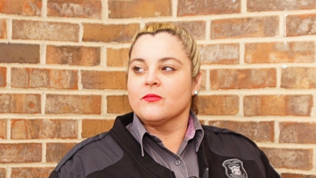 Cary Johnson is a corrections officer at the G. Robert Cotton Correctional Facility in Jackson, Mich.