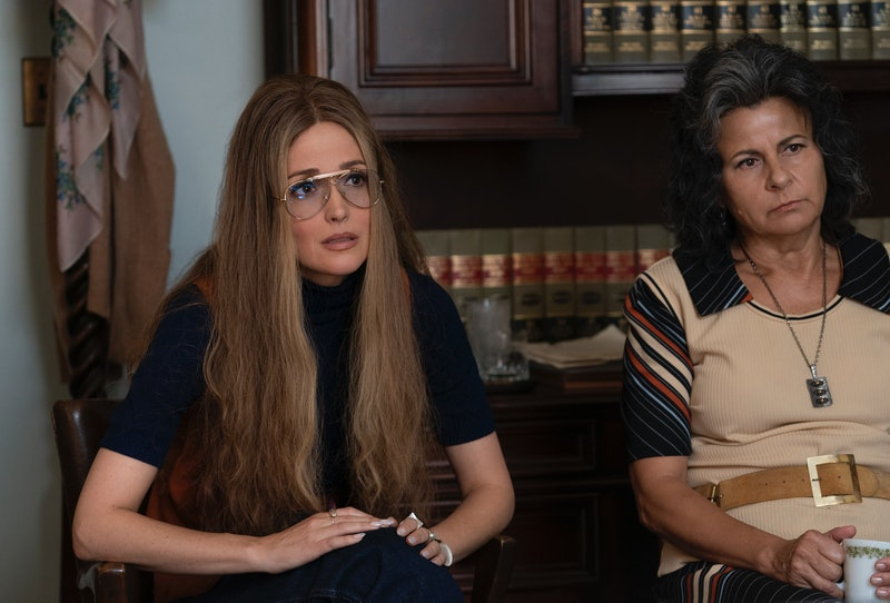 Rose Byrne as Gloria Steinem and Tracey Ullman as Betty Freidan in 'Mrs. America'