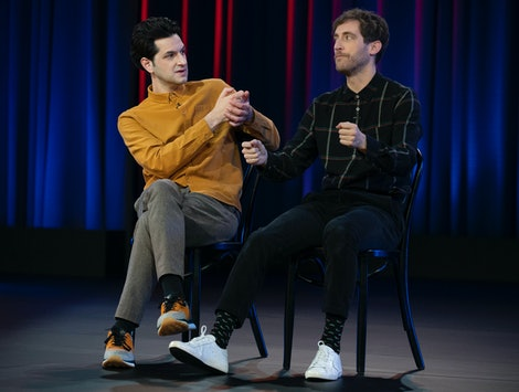 Ben Schwartz and Thomas Middleditch in 'Middleditch & Schwartz'