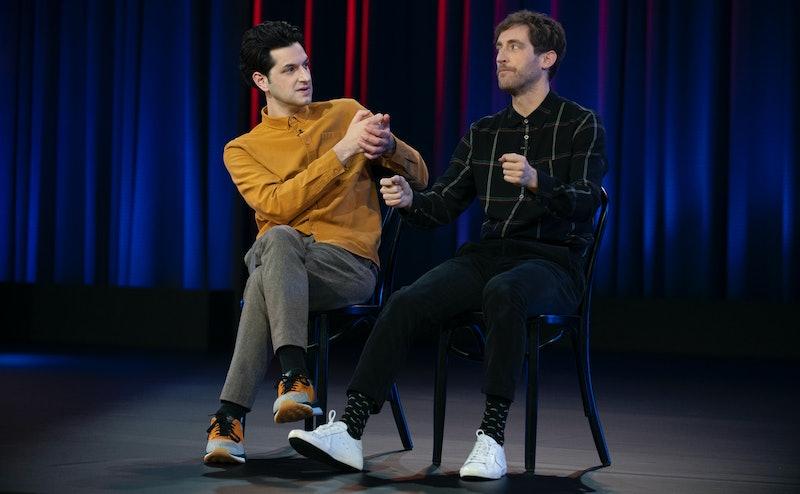 Ben Schwartz and Thomas Middleditch in 'Middleditch & Schwartz'